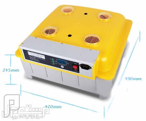 فقاسة بيض فل اوتوماتيك 48 بيضةEgg incubator hatching machine ظپظ'ط§%D