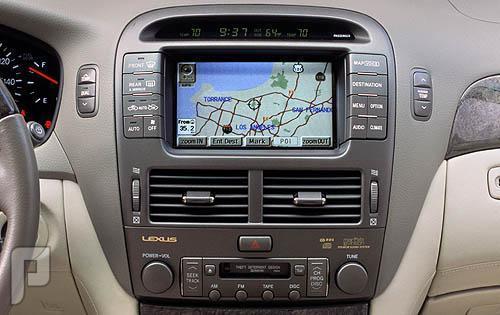 خرائط سيارات لكزس امريكي وخليجي اصدار 2013
